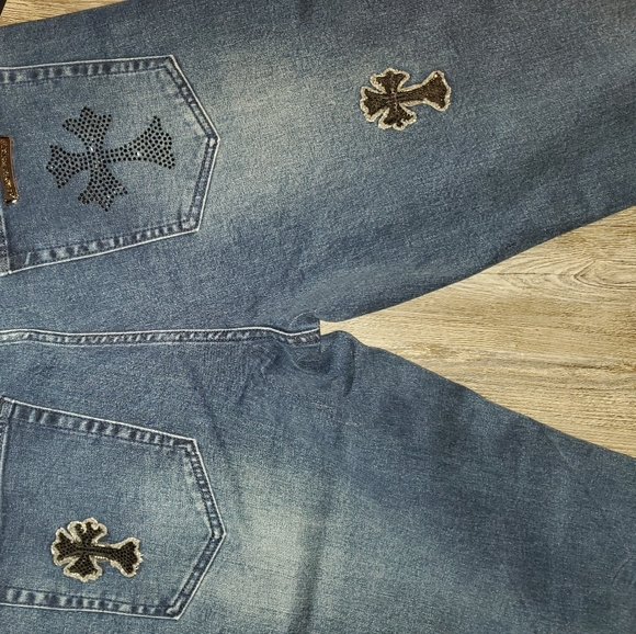 New Chrome Hearts Jeans in mens size 36
